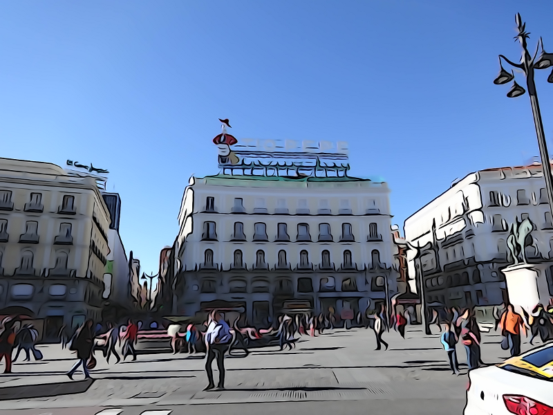 T o pepe regresa a la puerta del sol de madrid y se muda for Cartel tio pepe madrid