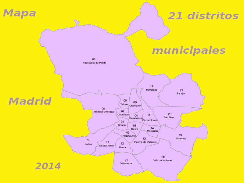 datos pr cticos sobre los 21 distritos municipales de la