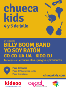 Chueca Kids | Actividades para niños y niñas | MADO 2015